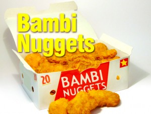 Bambi Nuggets Redux (and the Tulip Festival)