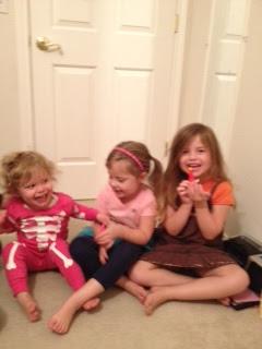 A wonderful weekend with my girls