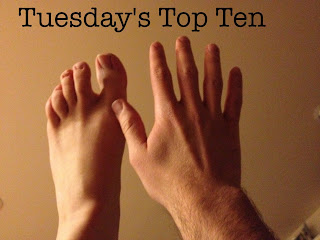 Top ten reasons I shouldn't be writing a Tuesday's Top Ten List right now.