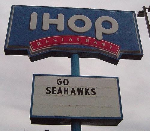 Winners! + Go Hawks!